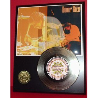 Gold Record Outlet Buddy Rich 24kt Gold Record Display LTD