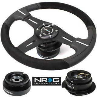 NRG ST 033R/S STEERING WHEEL + HUB + QUICK RELEASE   89 97 NISSAN