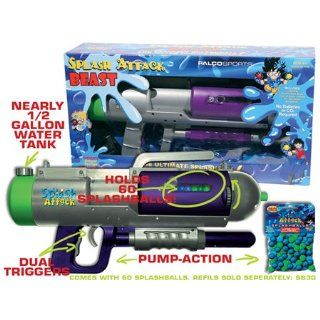 Splash Attack Beast Water Cannon/ Splashball Shooter