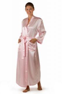 Silk Robe Bathrobe for Women   Available in Natural White