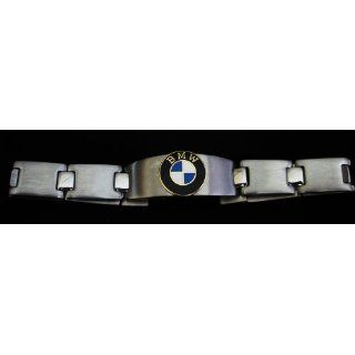 BMW Stainless Steel Mens Id Bracelet