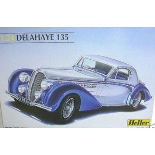 1.24 Scale Model Car Kit Delahaye 135, Heller Everything