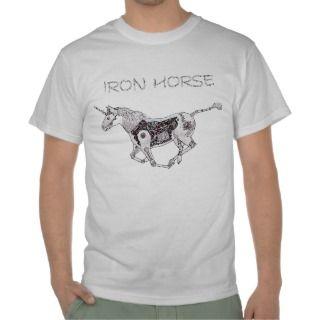 Iron Horse T shirts, Shirts and Custom Iron Horse Clothing