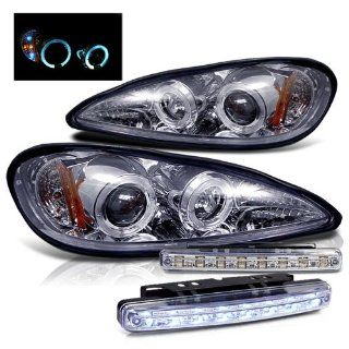 99 05 Pontiac Grand Am Projector Head Lights + LED Fog Brand New