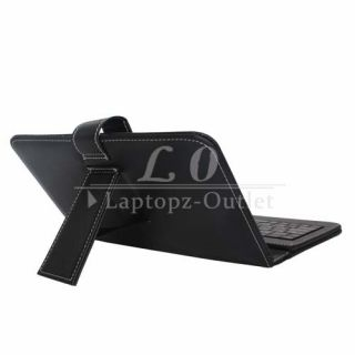 Case Stand Cover with Micro USB Keyboard +Stylus for MID Tablet PC
