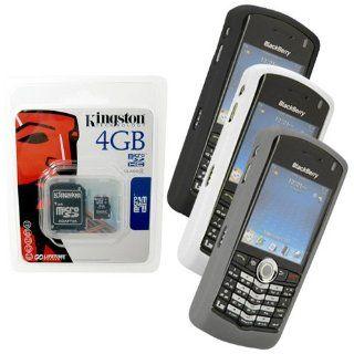 Black, White, Grey Skin Cover Case and Kingston 4GB