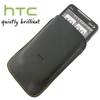 Authentic HTC Leather Pouch Case for HTC One V CDMA