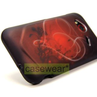 RUBBERIZED HARD CASE COVER FOR HTC DROID INCREDIBLE 4G LTE ACCESSORY