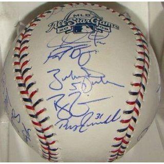 2009 Allstar Game NL Team 22 SIGNED MLB Baseball Sports