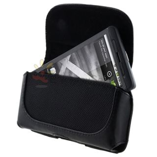 New Cell Phone Leather Pouch Case for Sprint HTC EVO 4G