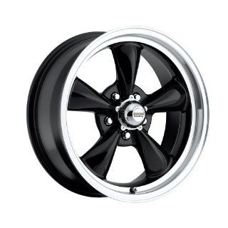 17 inch 17x7 / 17x9 100 B Classic Series Black aluminum wheels rims