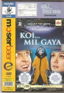 Koi Mil Gaya Hrithik Roshan Preity Zinta Bollywood DVD