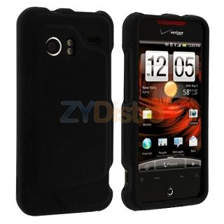 Black Hard Case Cover for HTC Droid Incredible Phone