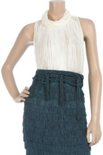 Alberta Ferretti Fringed rope belt