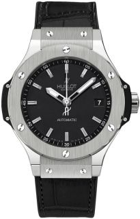 Hublot Watch Big Bang Steel Automatic 38 mm Authentic with Box Papers