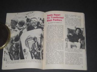 Jet Magazine 1972 Black Panthers Special Report Newton