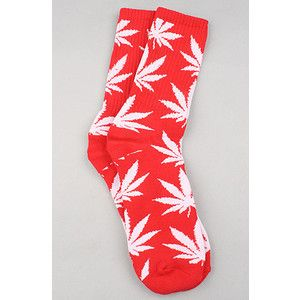 HUF Plantlife 420 Hi Top Socks Marijuana Weed Leaf RARE