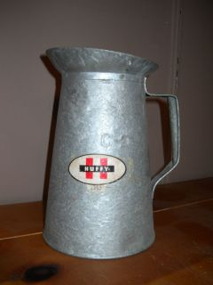 Vintage Huffy Huffman Oil Can Container Antique Bike Bicycle Company