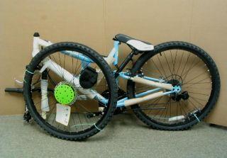 Huffy Womens Moire Bike Cream Blue 26 inch Wheels