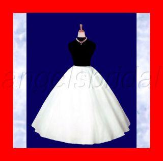 Super Full Bridal Wedding Gown Crinoline Petticoat Slip
