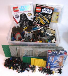 Huge 35 lb Lot Lego Blocks Parts Pieces Star Wars Castle etc 99₵ No