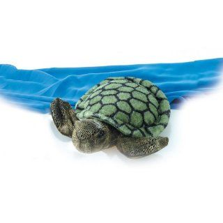 Aurora Plush 12 Sea Turtle Flopsie: Toys & Games