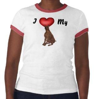 KRW I Love My Min Pin Shirt