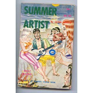 Summer Artist (Unique Books UB 109) Jayne Judson, Bill Ward (Cover