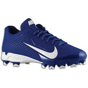 Nike Vapor Strike MCS   Mens   Baseball   Shoes   Deep Royal/White