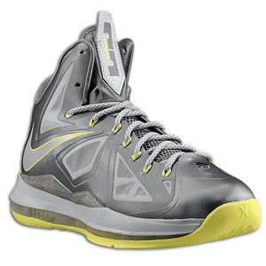 Nike Lebron X   Mens   Basketball   Shoes   Sport Grey/Strata Grey