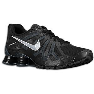 Nike Shox Turbo+ 13   Mens   Running   Shoes   Black/Anthracite