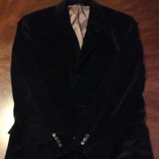 Hugo Boss Black Velvet Blazer 42R