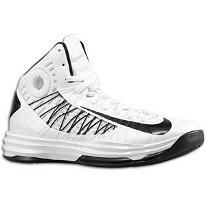 Nike Hyperdunk   Mens   Basketball   Shoes   White/Metallic Silver