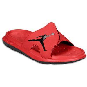 Jordan RCVR Slide Select   Mens   Casual   Shoes   Gym Red/Black