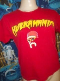 Hulk Hogan Hulkamania Vintage T Shirt Youth