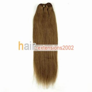 Natural Brazilian Weft Human Hair Extension 16 Excellent Hot