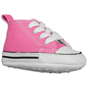 Converse First Star Crib   Girls Infant   Basketball   Shoes   Pink