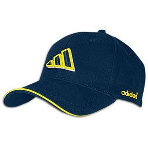 adidas Crestridge Cap   Mens   Wrestling   Clothing   Navy/Yellow