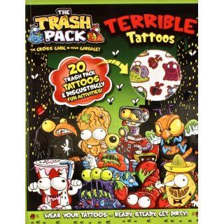 The Trash Pack Terrible Tattoos Parragon Books 9781445494425