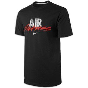 Nike Air Sickness L/S T Shirt   Mens   Casual   Clothing   Black
