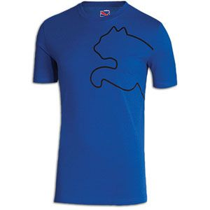 PUMA New Cat S/S T Shirt   Mens   Casual   Clothing   Surf The Web