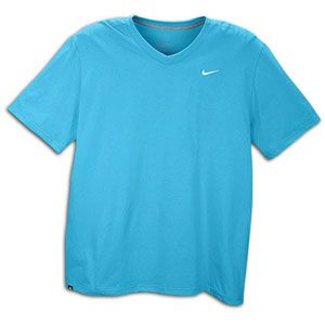 Nike Ath Dept Swoosh V Neck T Shirt   Mens   Casual   Clothing   Teal