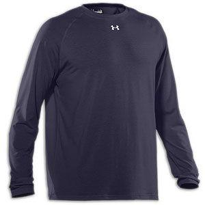 Under Armour Locker Longsleeve T Shirt   Mens   Midnight Navy/White