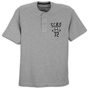 Ecko Unltd Tee Off S/S Henley   Mens   Casual   Clothing   Athletic