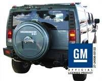 H2 Hummer Accessories Tire Cover Painted to Match