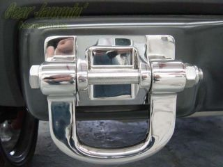 Hummer H3 Stainless Steel Tow Hooks Front Rear 3 Pcs