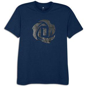 adidas Rose Logo T Shirt   Mens   Basketball   Clothing   Collegiate