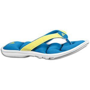 adidas Chilwyanda Fitfoam Slide   Womens   White/Sharp Blue/Ultra