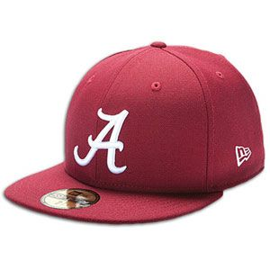 New Era 59Fifty College Cap   Mens   Alabama Crimson Tide   Crimson
