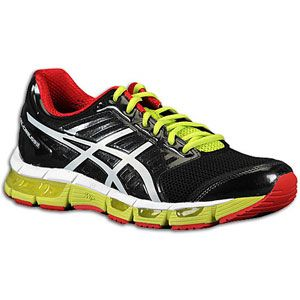 ASICS® Gel   Cirrus33   Mens   Running   Shoes   Black/White/Red